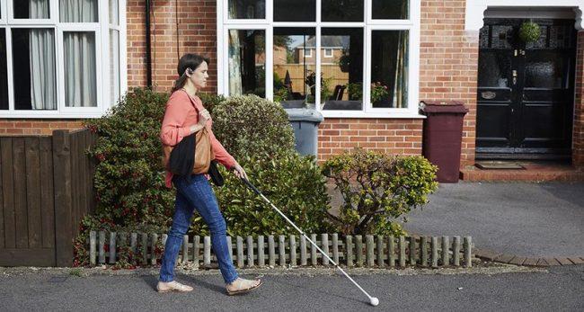 Люди, лишенные зрения, используют эхо-сигналы