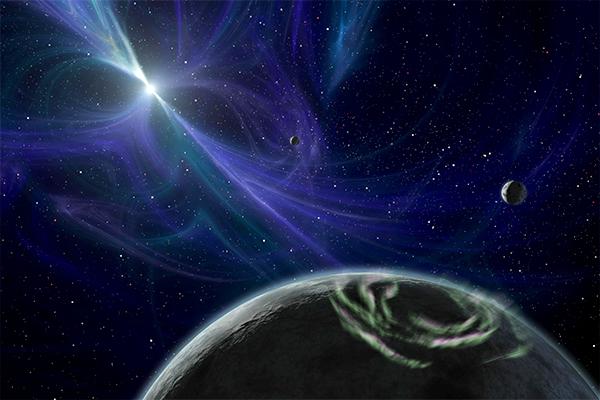 Ученые допускают существование жизни на Полтергейсте