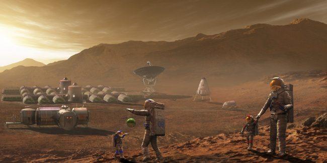 Марс непригоден для жизни