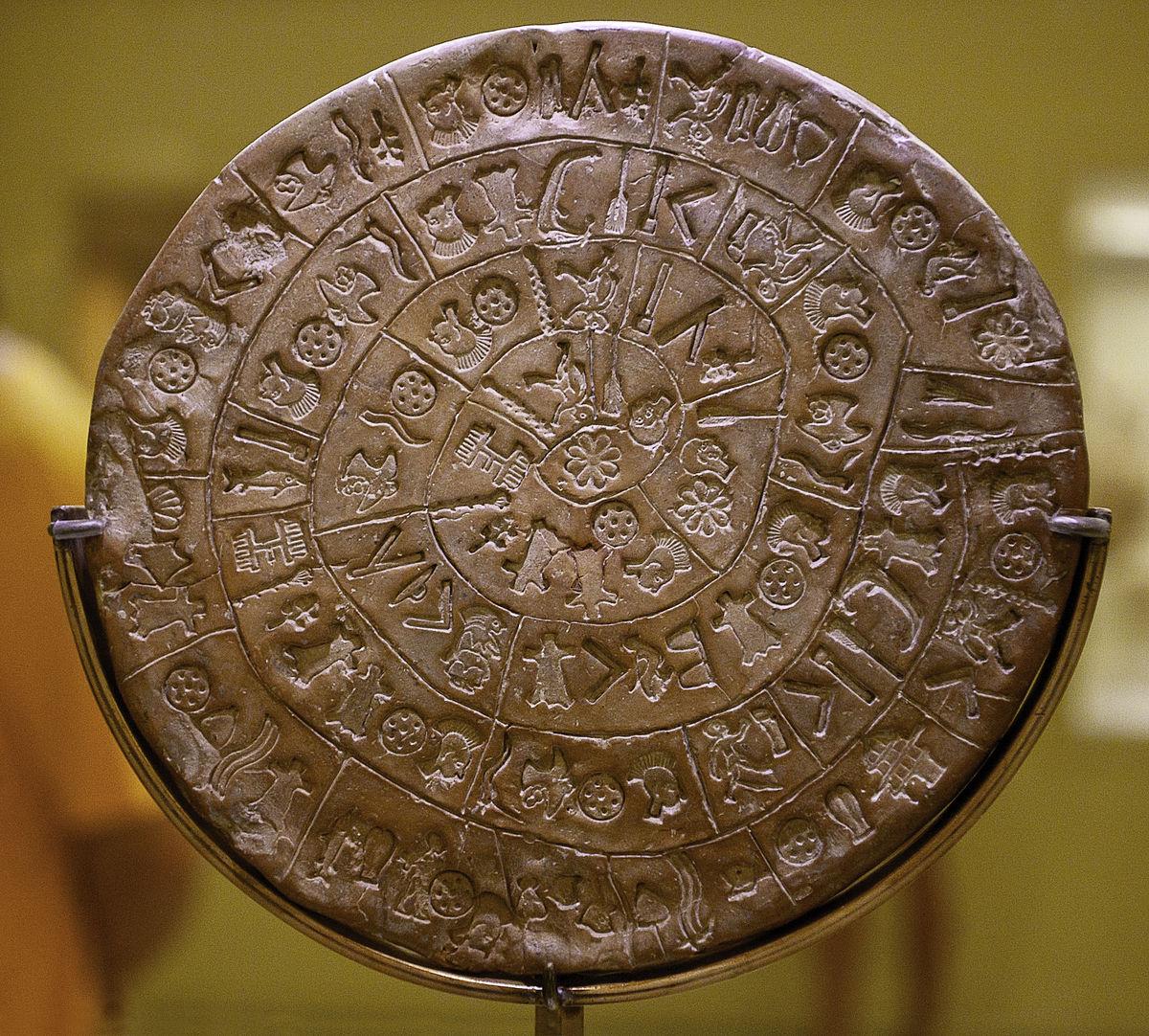 Загадки Фестского диска