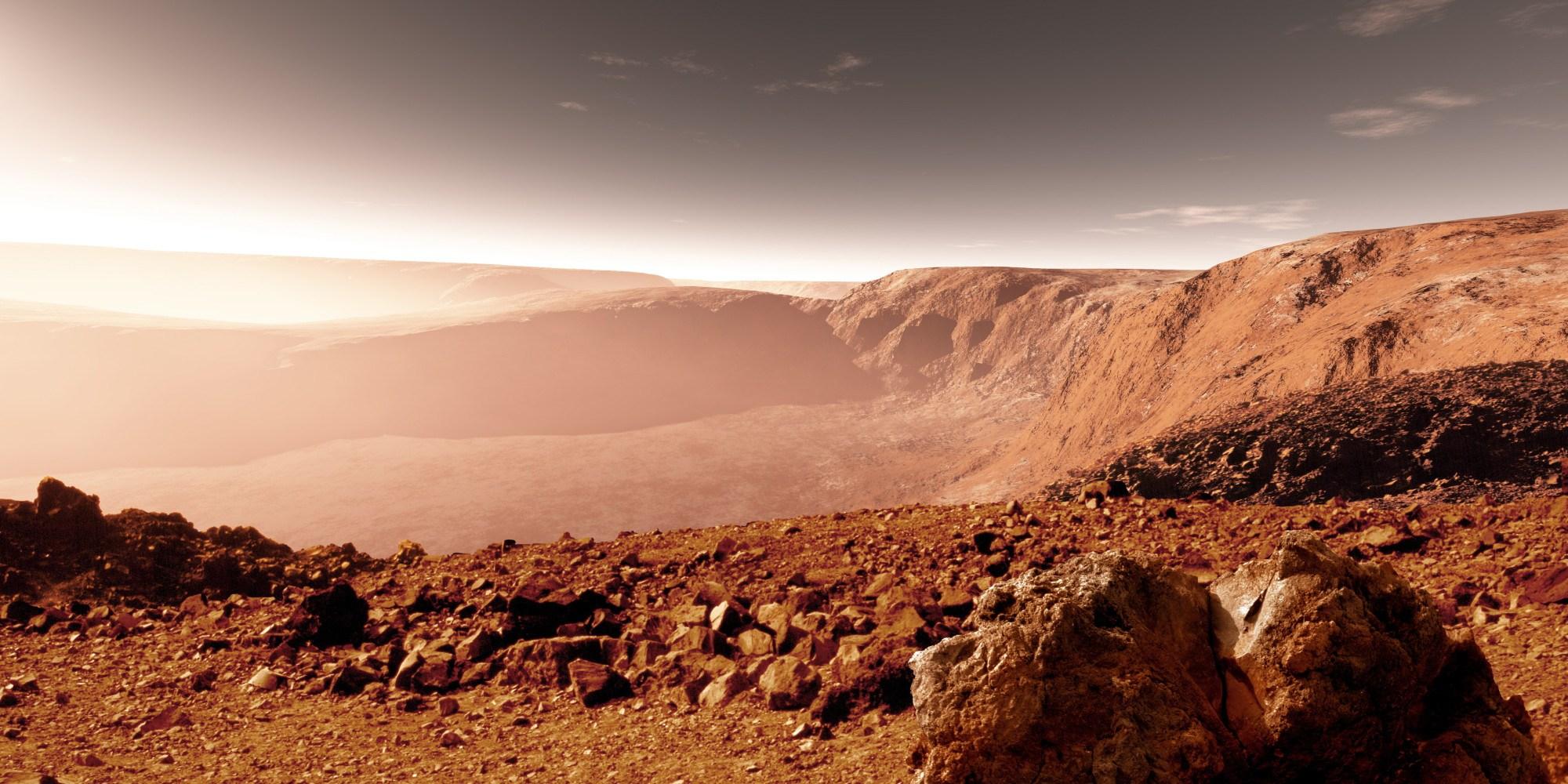 Новые загадки Марса