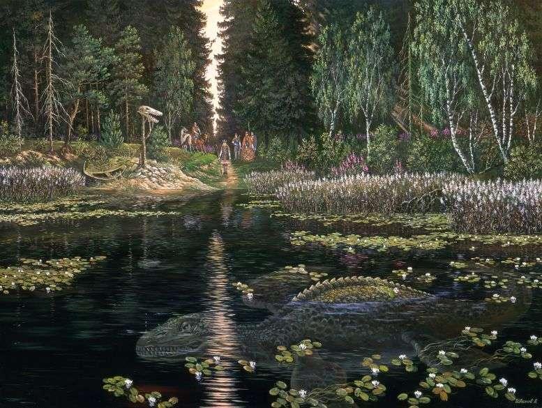 Вопрос о существовании озерных монстров