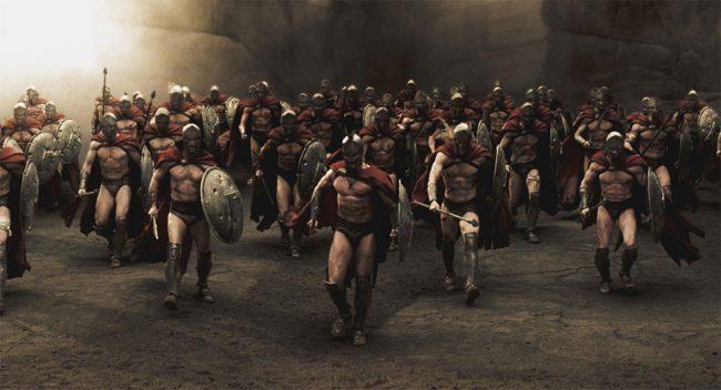 300 спартанцев – первый опыт пропаганды