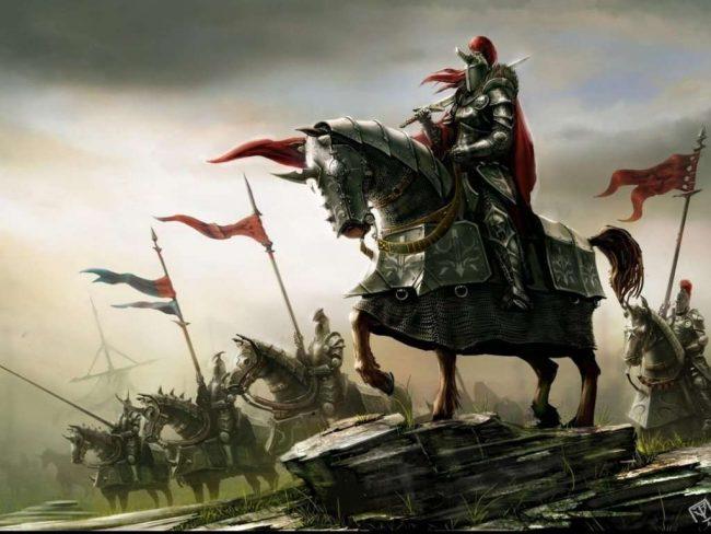 Воин Черного Барона и бог войны