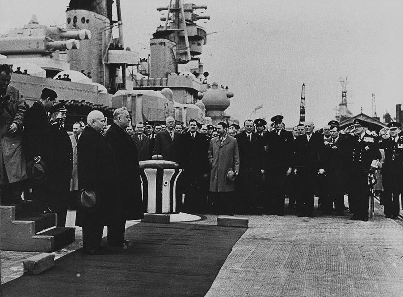 Инцидент холодной войны в английском Портсмуте