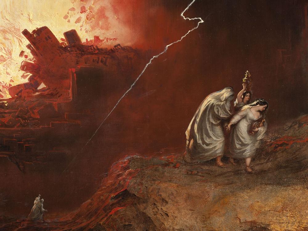 Как погибли Содом и Гоморра