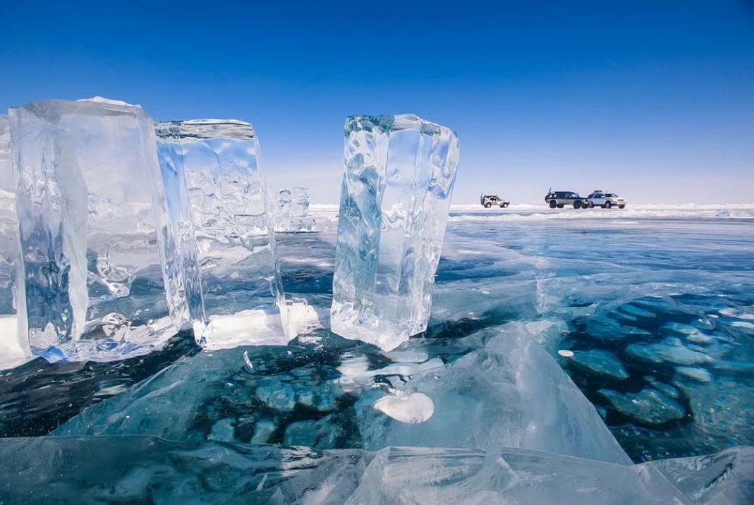Байкал лед