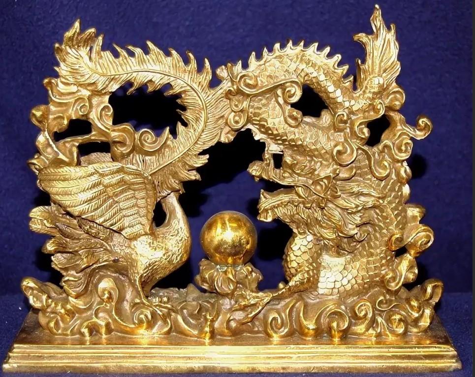 дракон с фоениксом