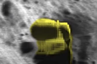 Уфолог из Тайвани зафиксировал на Луне НЛО размером 20 км