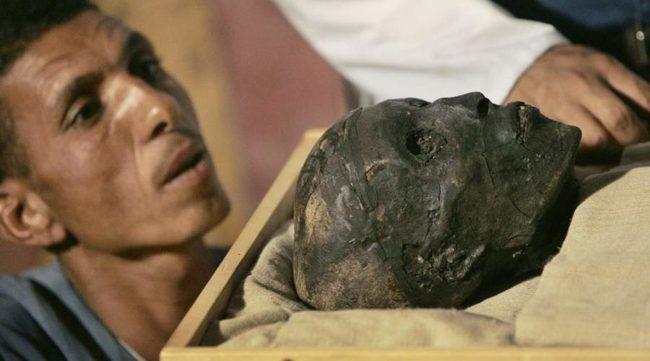 Изучение мумии