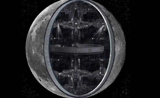 Луна - корабль