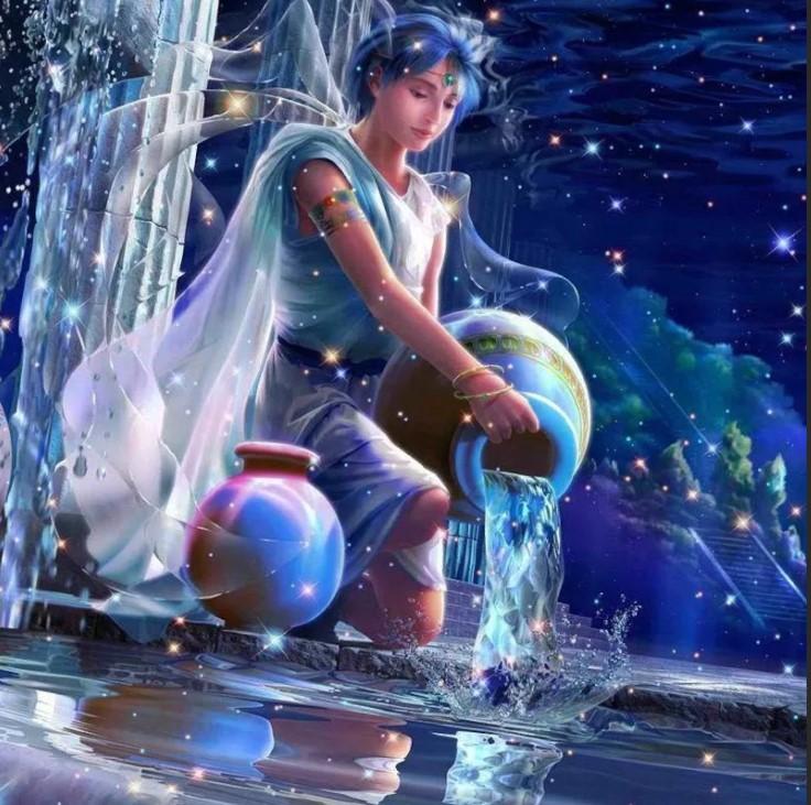 водолей льет воду