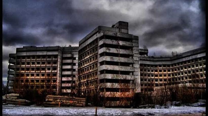 Заброшенная больница в Ховрино.