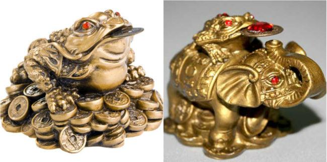 Денежная жаба - классический талисман, привлекающий успех и деньги