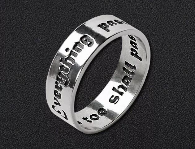 кольцо соломона из серебра