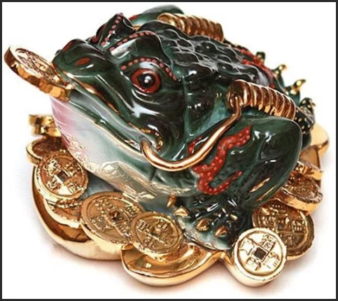 Денежная жаба по фен шуй: куда ставить лягушку в доме?