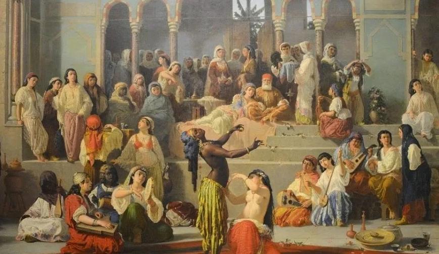 Царь Соломон и его наложницы.