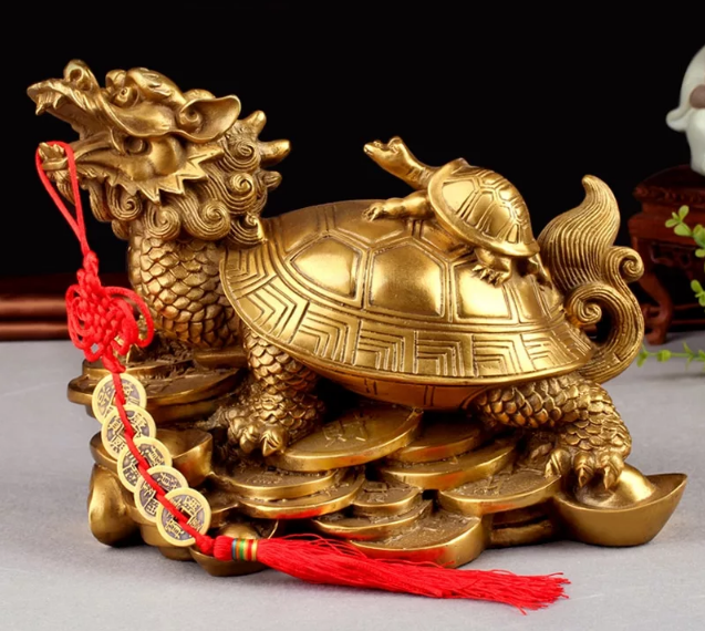 дракон с черепахой талисман