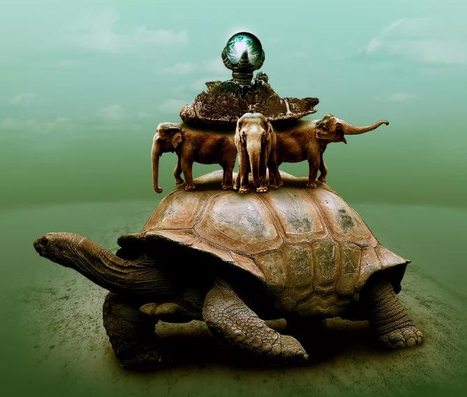 черепаха основа мира