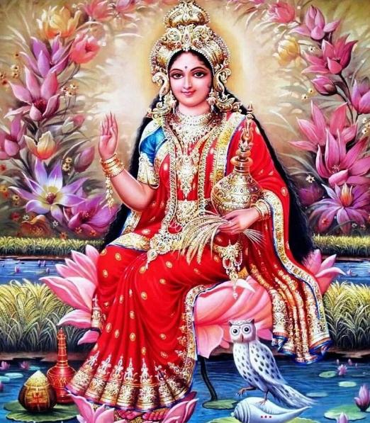 индийская богиня Лакшми