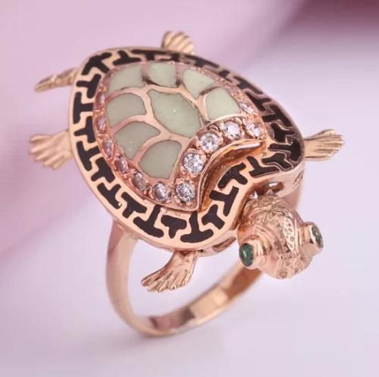 кольцо-черепаха