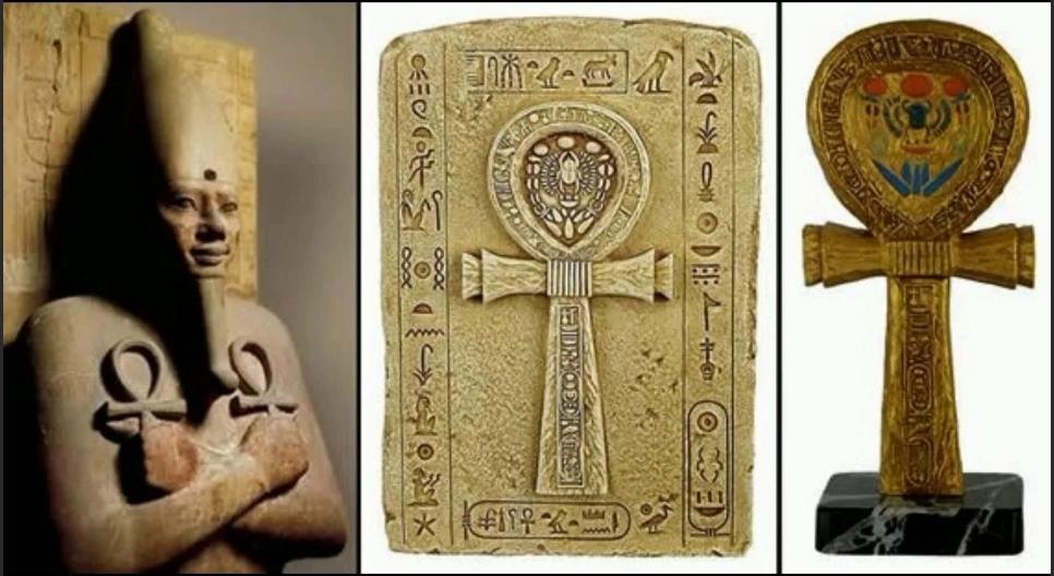 крест анкх у фараонов Древнего Египта