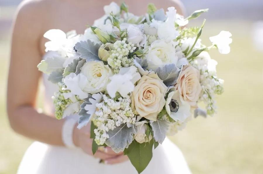 цветы на свадьбу в светлых тонах