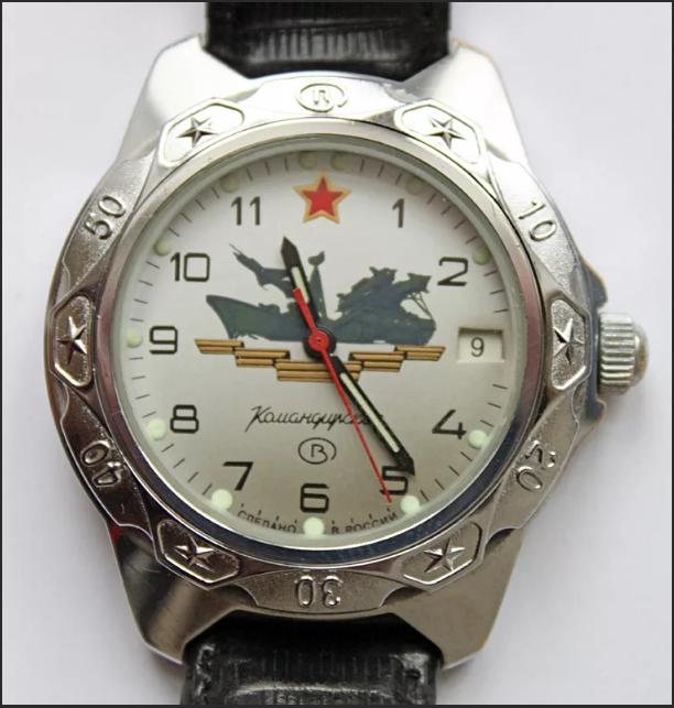 командирские часы старые советские