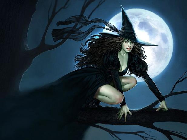 Привычный образ ведьмы