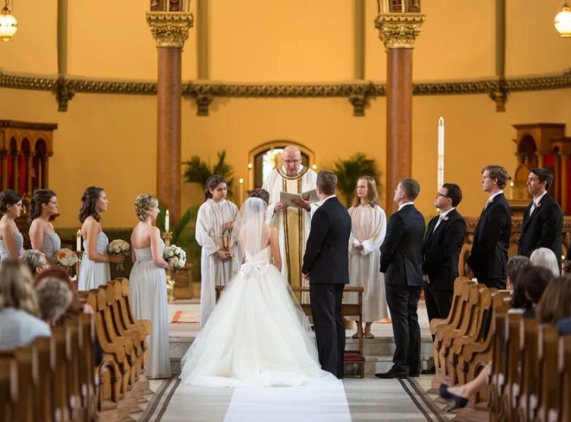 английская свадьба в англии венчание