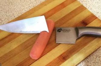Сломался нож? К чему бы это?