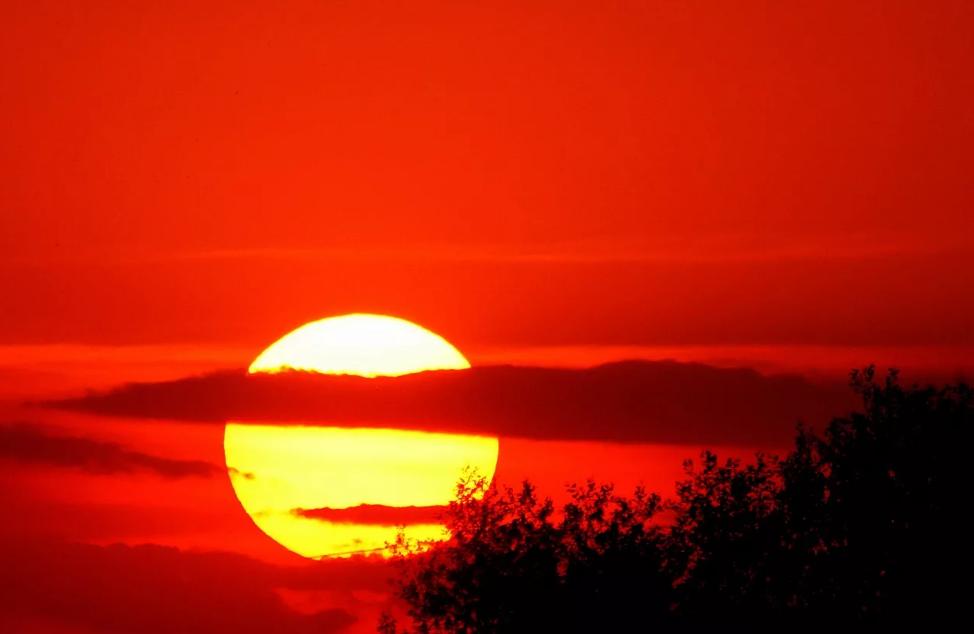 Красный закат: народные приметы и суеверия - бытовые темы: приметы
