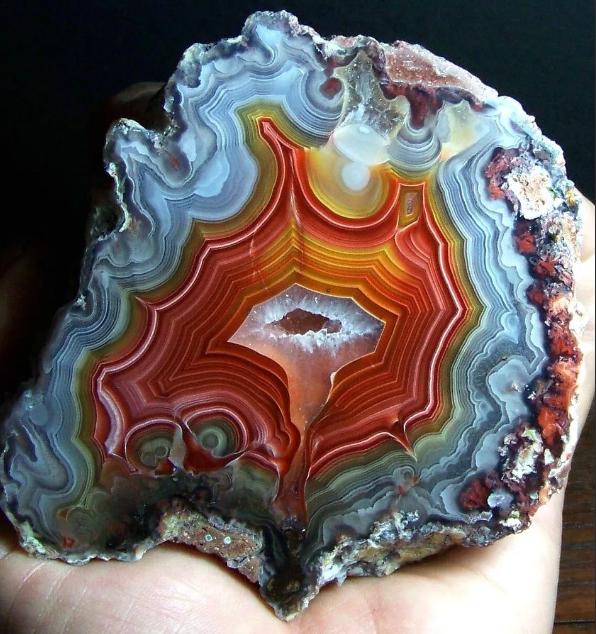 агат минерал