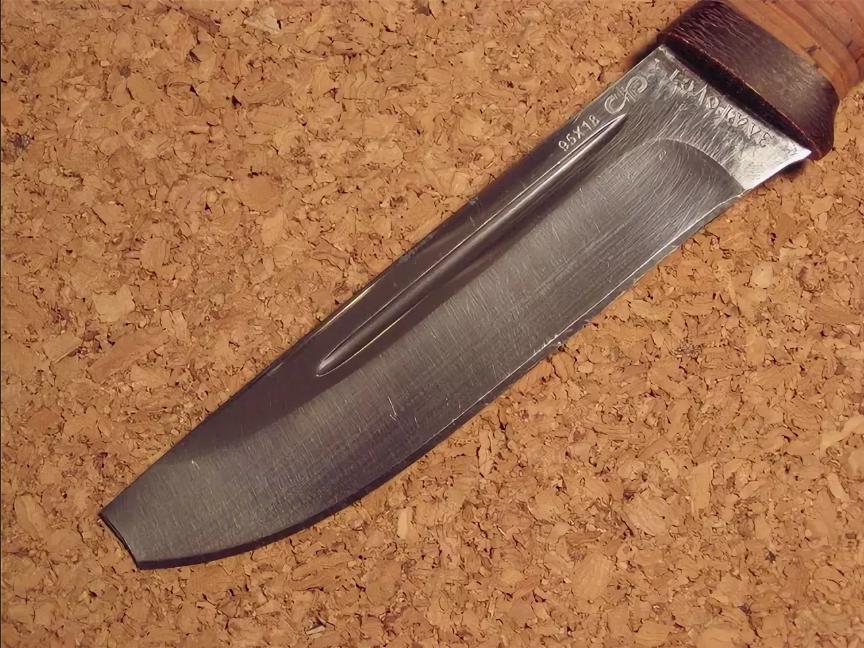 сломался кончик ножа