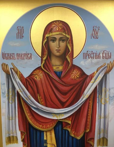 икона Покрова Пресвятой Богродицы