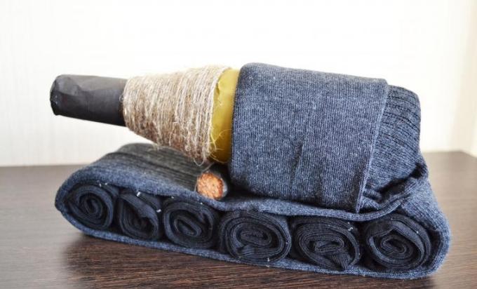 носки в подарок танк