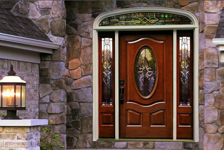 Элитные входные двери для загородного дома фото