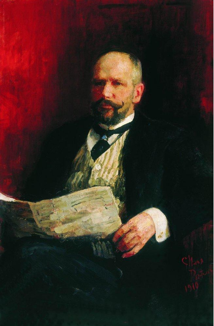 И. Репин Портрет П.А. Столыпина. 1910 г.