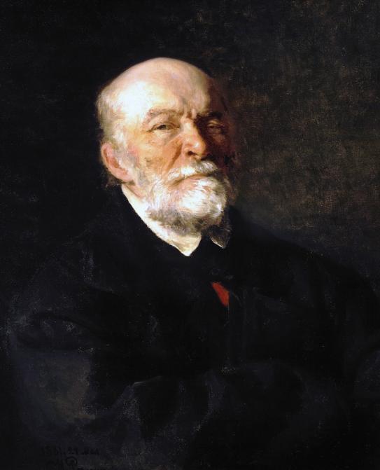 Илья Репин портрет Н. И. Пирогова