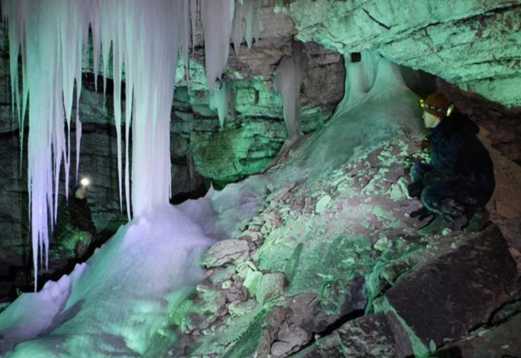 Кунгурская пещера Крестовый грот