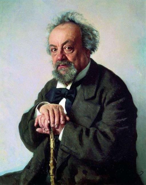 Илья Репин портрет Писемского 1880