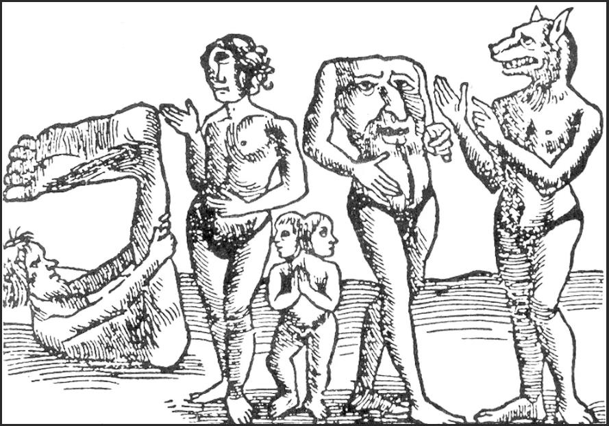 загадочные люди в прошлых веках