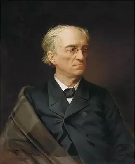 Илья Репин портрет Ф. Тютчева