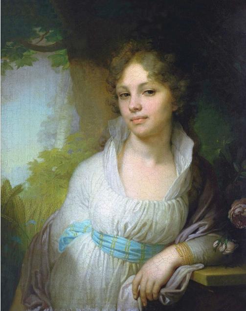 В. Бровиковский портрет Марии Лопухиной, 1797 г.