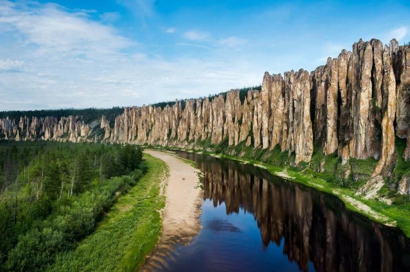 Ленские столбы Якутск