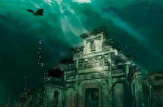 Исчезнувший подводный город Шичен в Китае, которому более 1000 лет