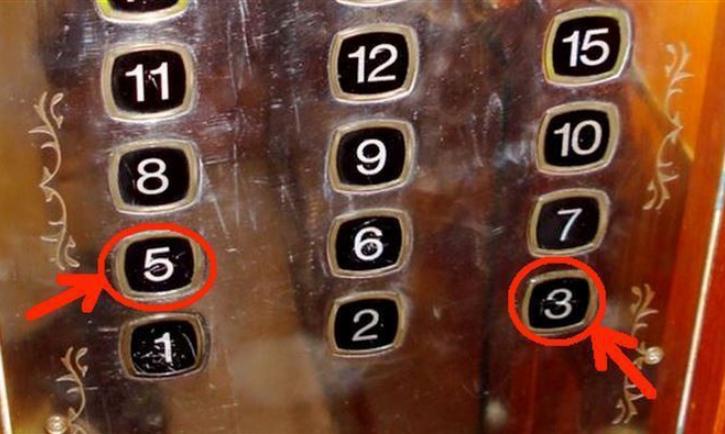 в Китае боятся цифры 4 ее нет в лифте