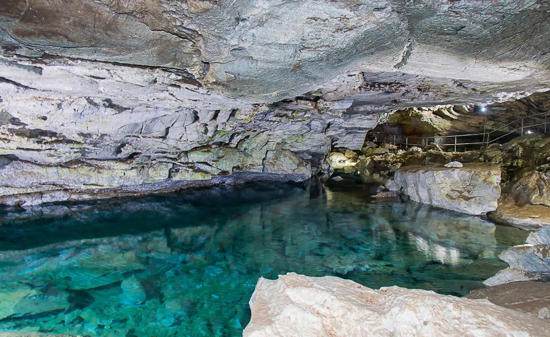 Кунгурская пещера озеро девичьих слез