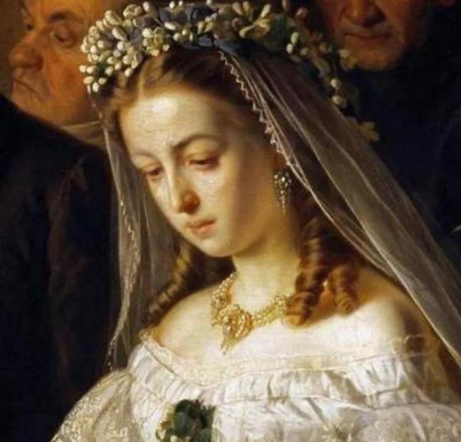 кто невеста на картине Неравный брак
