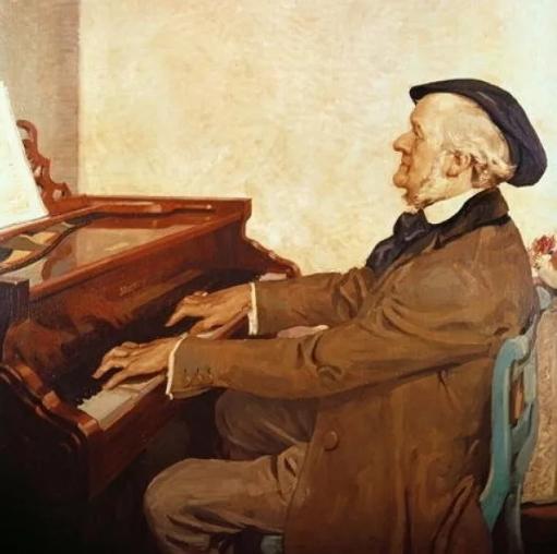 Рихард Вагнер за пианино